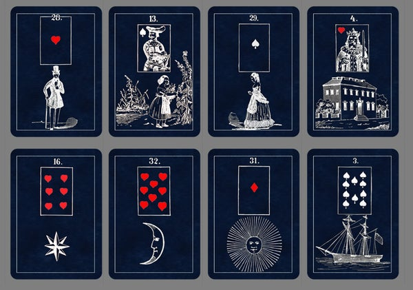 Image of Mystic Blues Lenormand