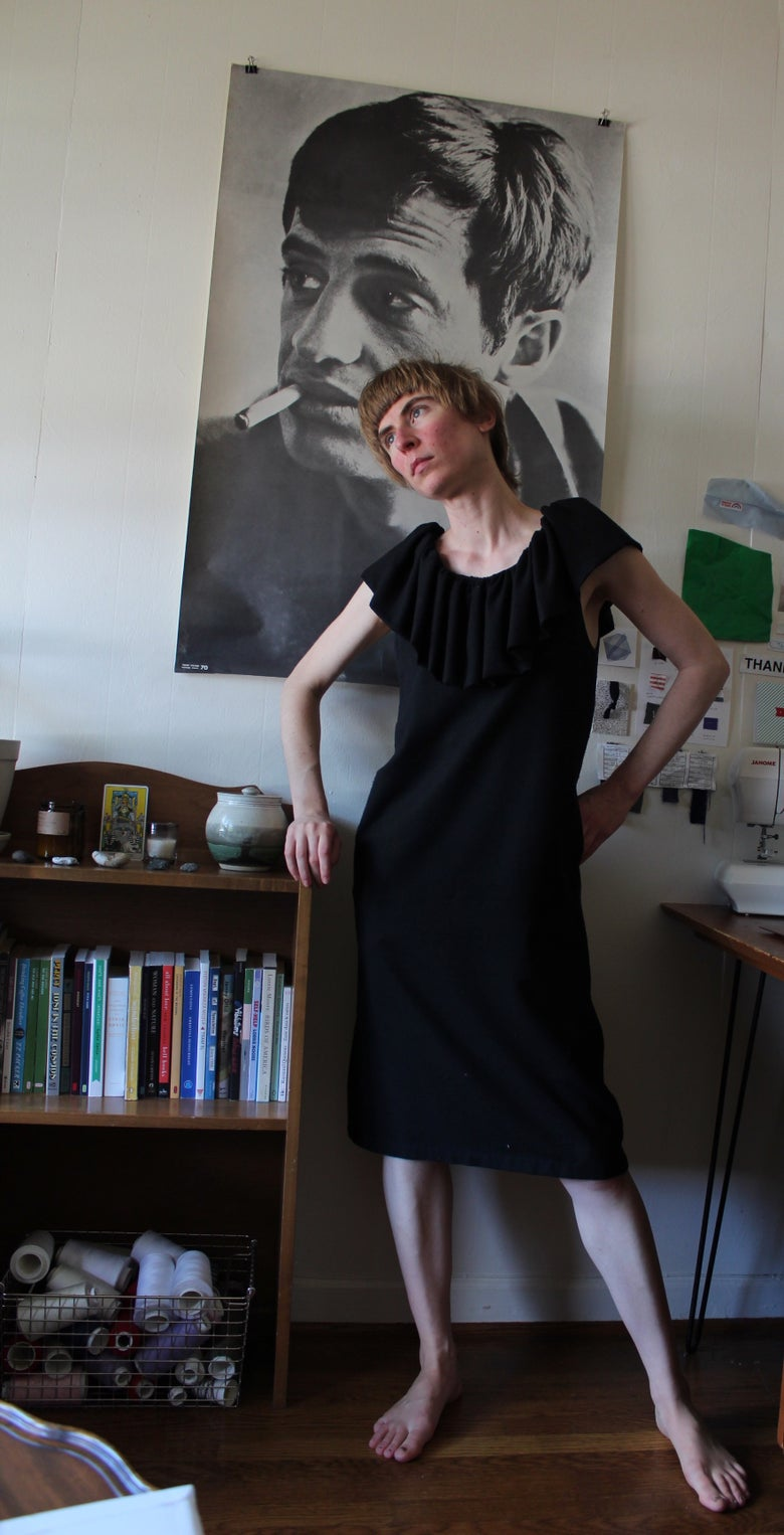 Image of Sample - Ruff Dress