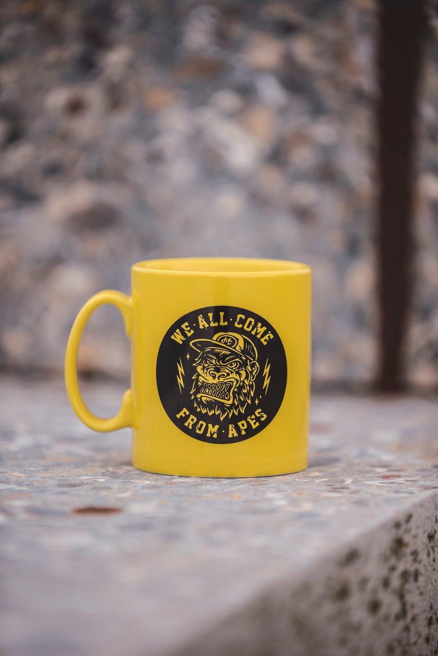 Image of Monkey Climber APE mug I Yellow