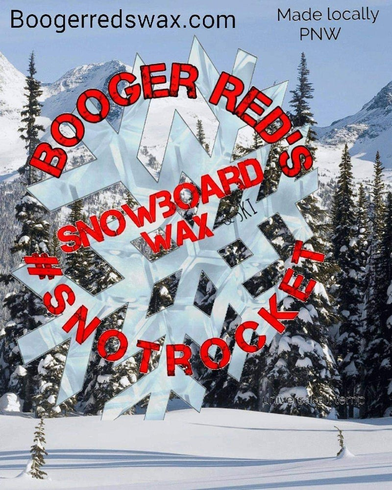 Image of Snowboard Wax - Booger Red's