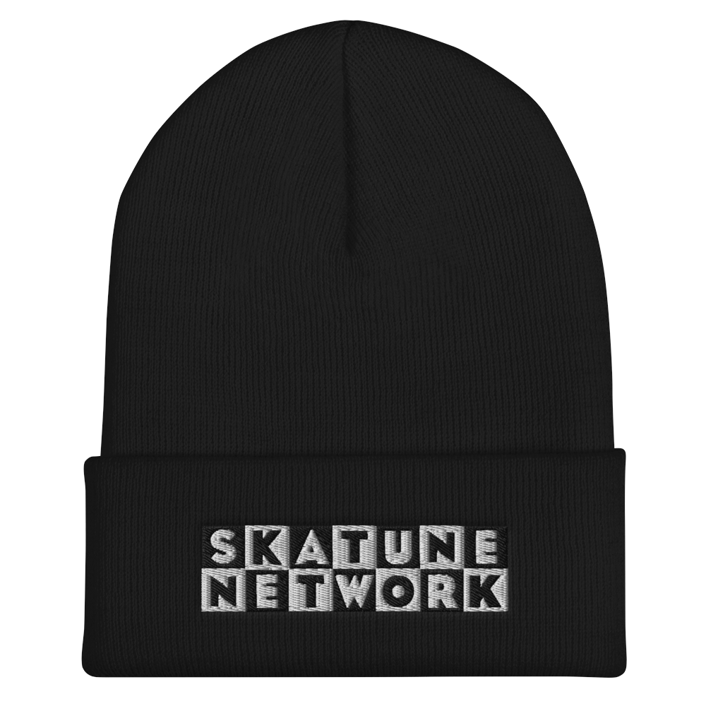 Image of CLASSIC LOGO | Embroidered Cuffed Beanie