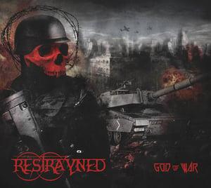 """Image of Restrayned - """"God Of War"""" CD"""