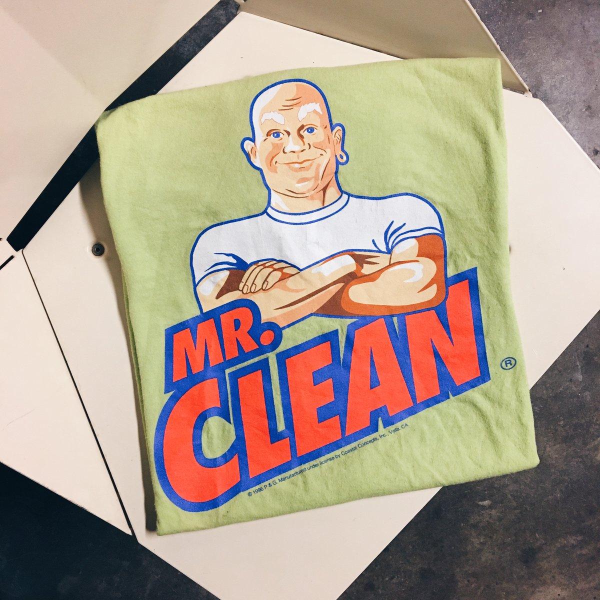 Image of Original 1996 Mr. Clean Tee.