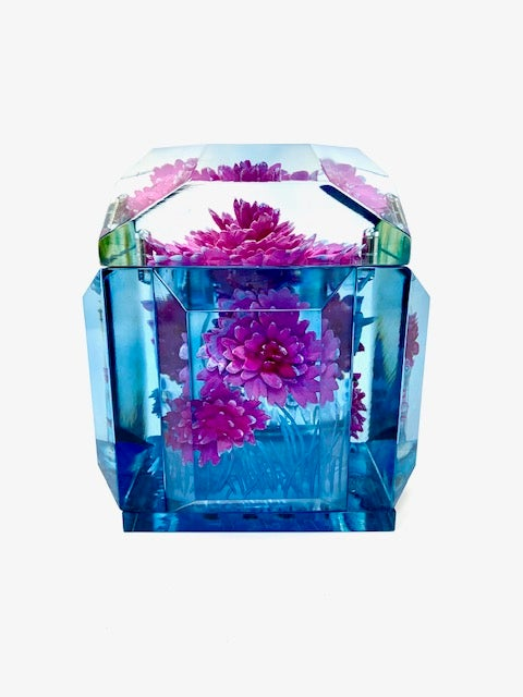 Image of Petite Painted Underwater Flower Box