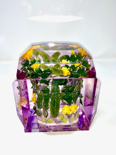 Image of Petite Painted Pickles Box