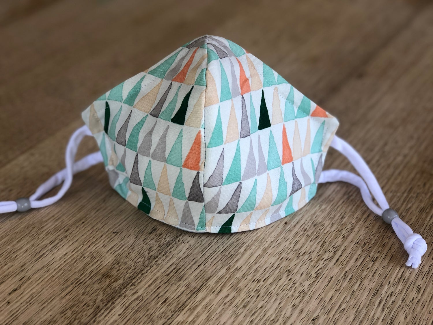 Image of Cloth Mask- Organic Cotton- Triangles