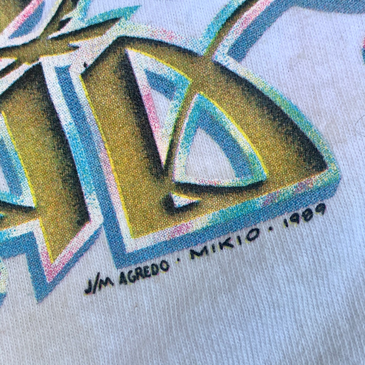 Original Vintage Grateful Dead 1989 Rainforest Tee!! XX-Large
