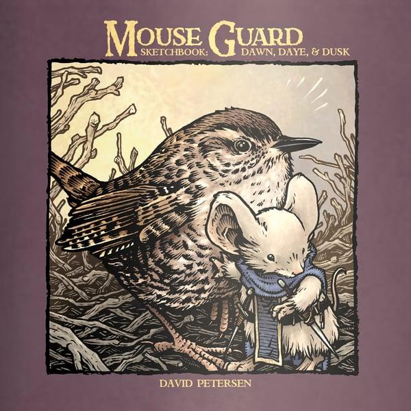 Image of Dawn, Daye, & Dusk Mouse Guard Sketchbook