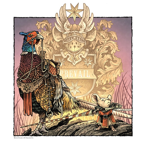 Image of Mouse Guard Prevail Print