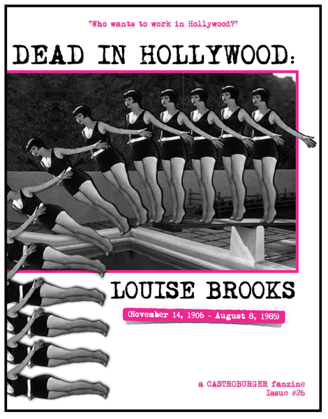 Image of DEAD IN HOLLYWOOD: LOUISE BROOKS (Issue #26)