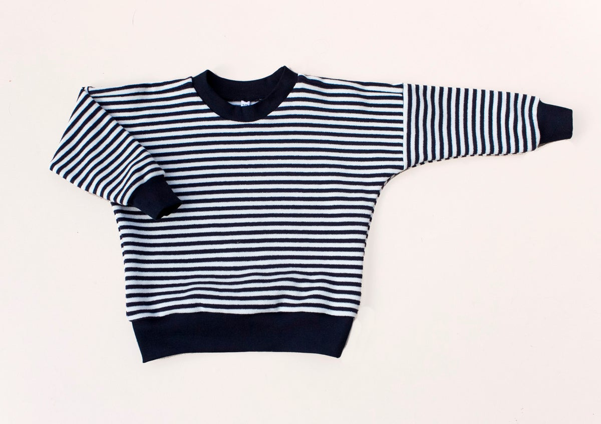 Image of Breton Drop shoulder sweater
