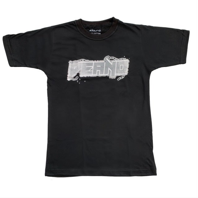 Image of Black Deano ChainMail Tee