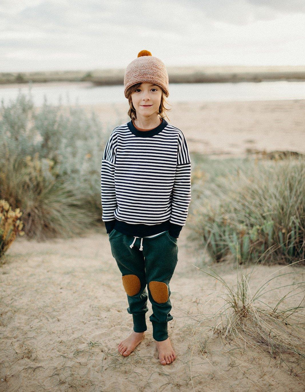 Image of Breton Drop shoulder sweater