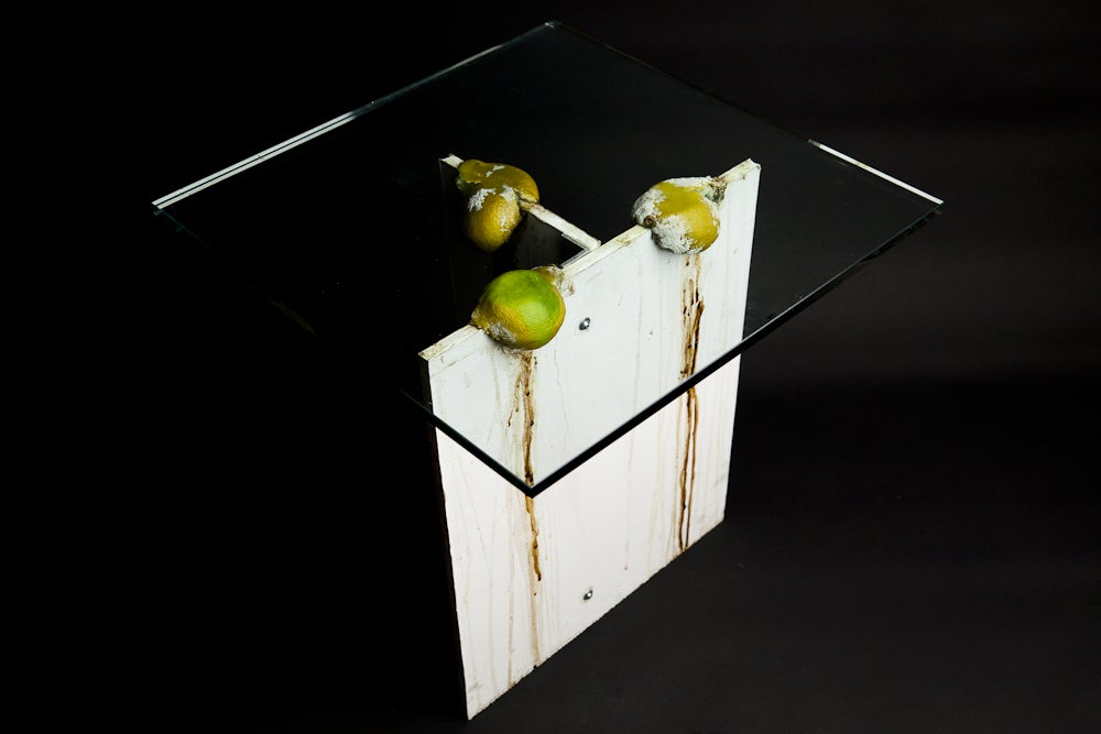 Justin Beal, <i>Untitled (Lime Table)</i>, 2010