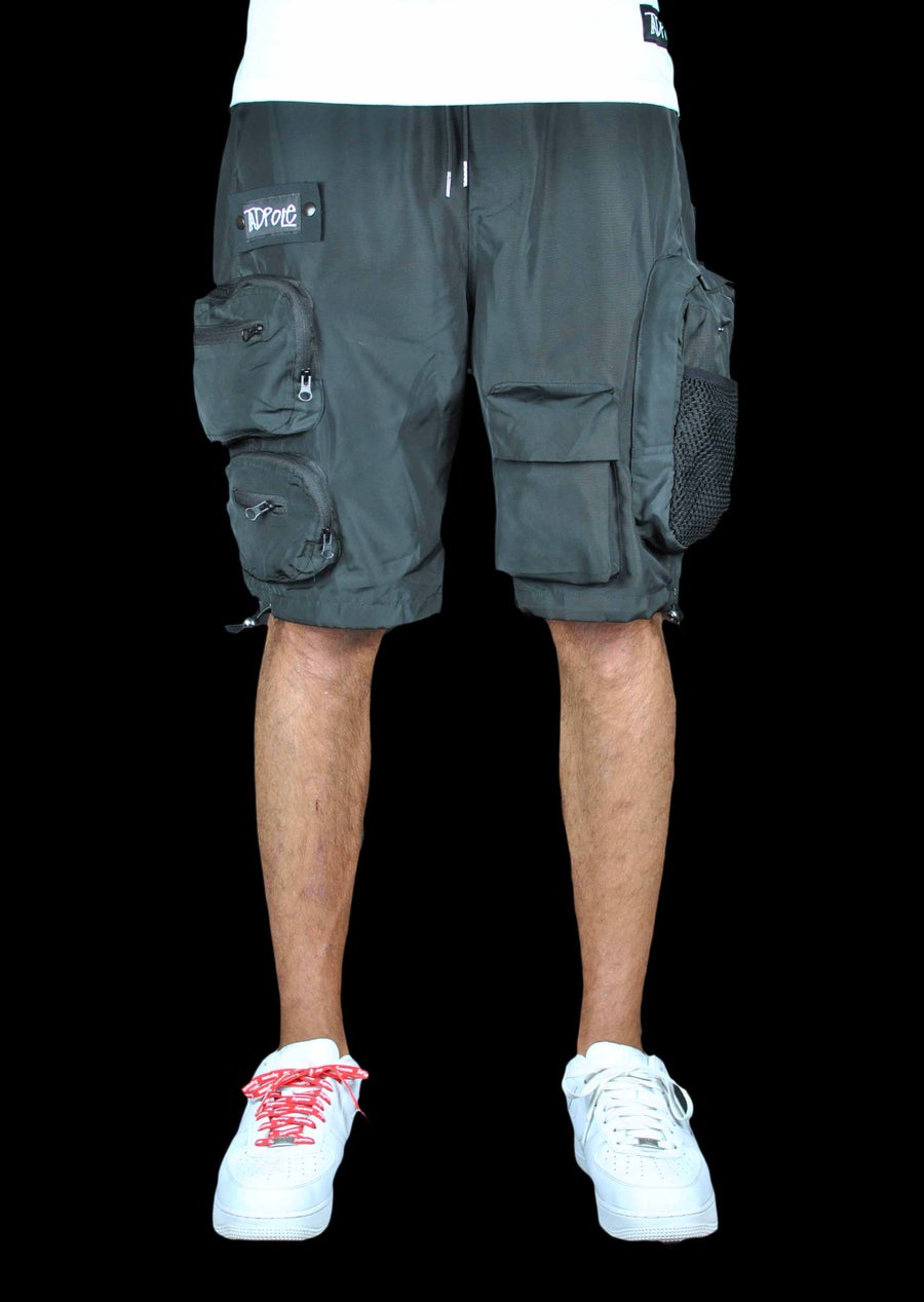 Image of MULTI-POCKET CARGO SHORTS
