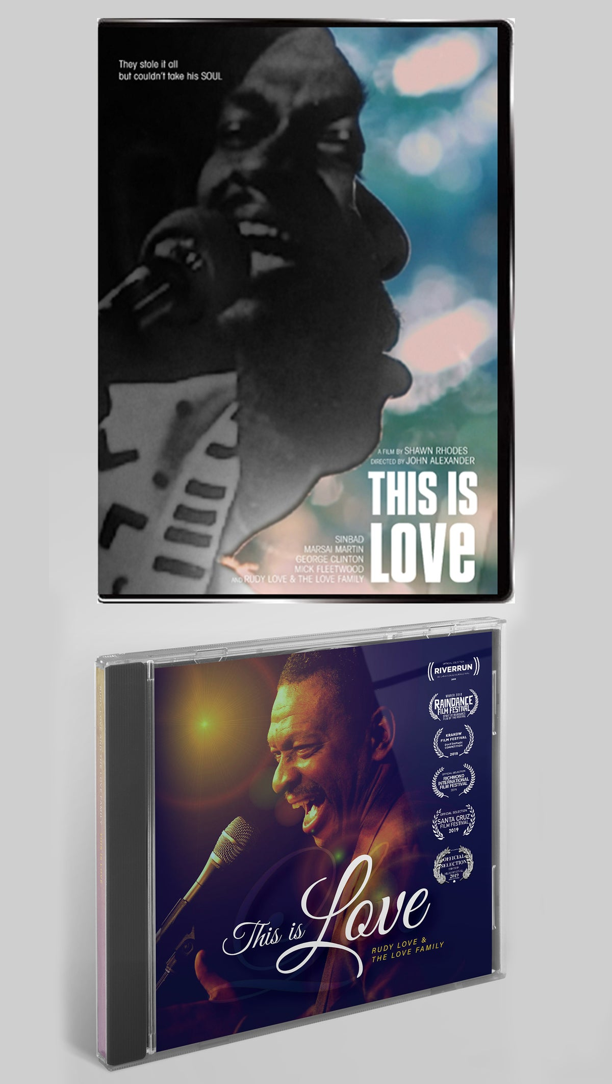 Image of This Is Love DVD + Soundtrack BUNDLE