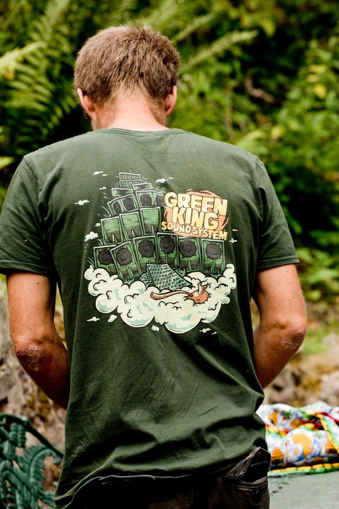 Green King Sound System Official Chalice Clouds T-Shirt