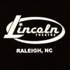 Lincoln Oval logo / state logo back (white on black)