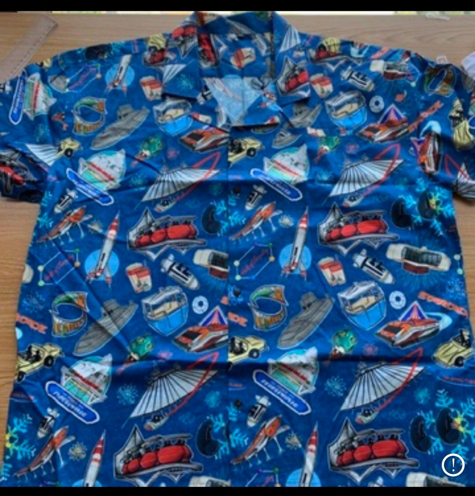 Image of LE Batch Run: Yesterday's Tomorrowland Aloha Shirt