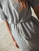 Vestido de Cinza Casual