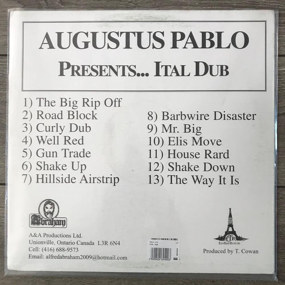 Image of Augustus Pablo - Ital Dub Vinyl LP
