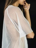 Vestido Branco Transparente