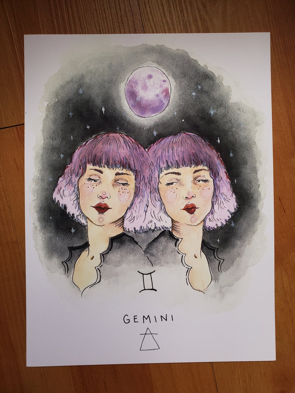 Image of Gemini print