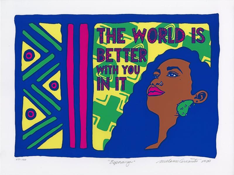 """""""Esperanza"""" by Melanie Cervantes of Dignidad Rebelde"""