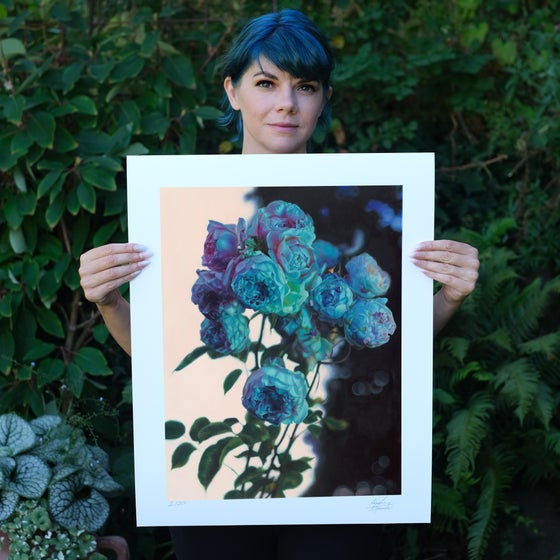 "Image of ""Night Garden"" Limited Edition Print"