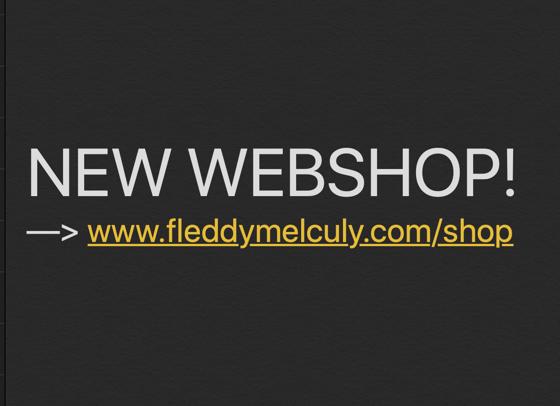 Image of NEW WEBSHOP --> www.fleddymelculy.com/shop