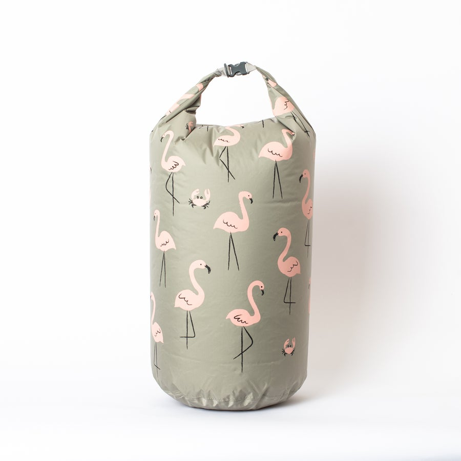 Image of Büro Destruct - BD Seabag Flamingos 1 2020