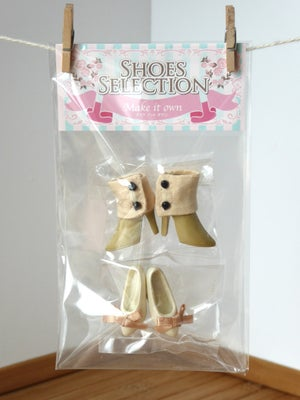 Image of Make It Own Pullip Shoes Selection MS-001