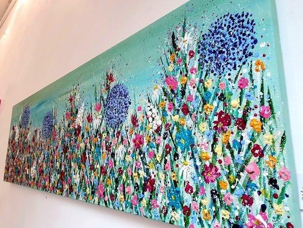 Image of 'Full Bloom'  Canvas Painting