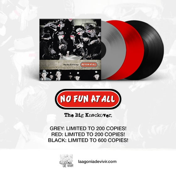 "Image of PRE-ORDER NOW!!! LADV145 - NO FUN AT ALL ""the big knockover"" LP REISSUE"