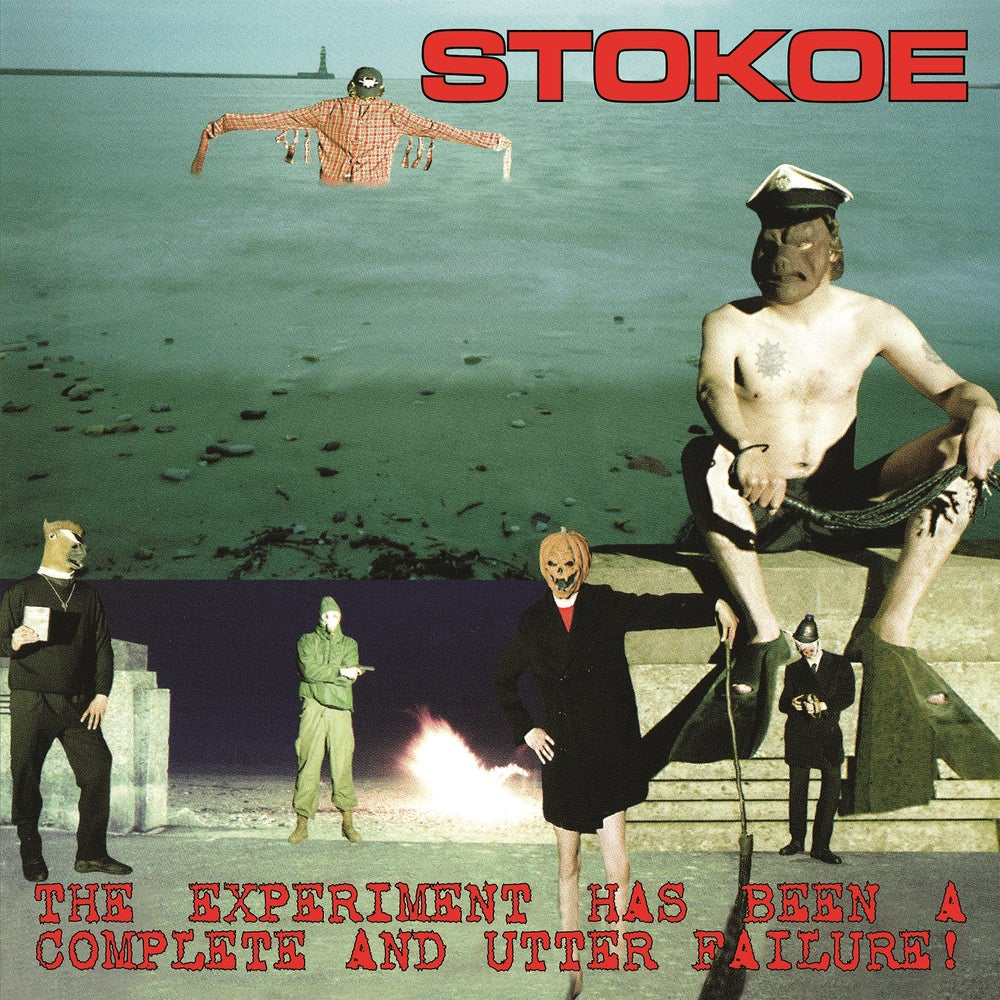 Image of STOKOE - THE EXPERIMENT HAS BEEN A COMPLETE AND UTTER FAILURE LTD EDITION COL VINYL LP