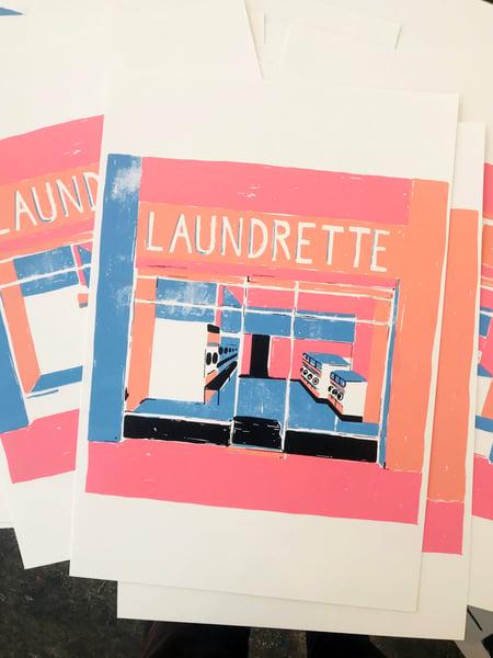 Image of 'Laundrette' Print