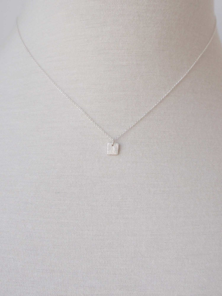 Image of Tiny Square Necklace