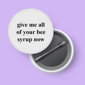 Image of Bee syrup badge