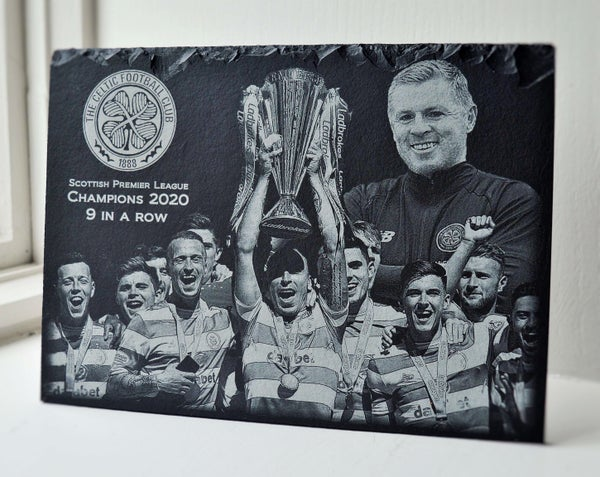 Image of Celtic Football Club - 9 IN A ROW