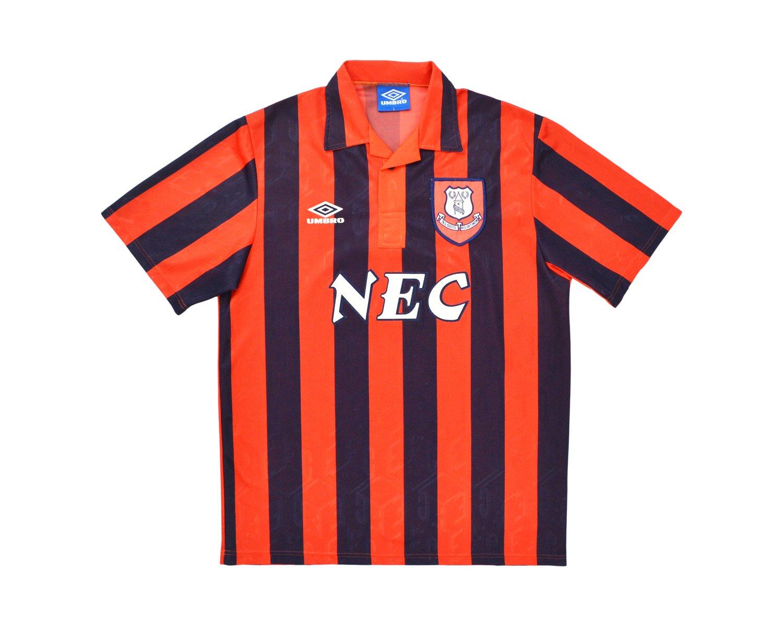 Image of 1992-94 Umbro Everton Away Shirt L