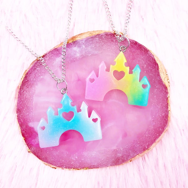 Image of Rainbow Castle Necklace