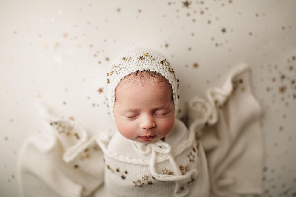 Image of Stella Newborn Bonnet