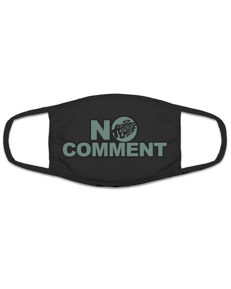 "Image of Heavy Goods ""No Comment"" Face Mask"