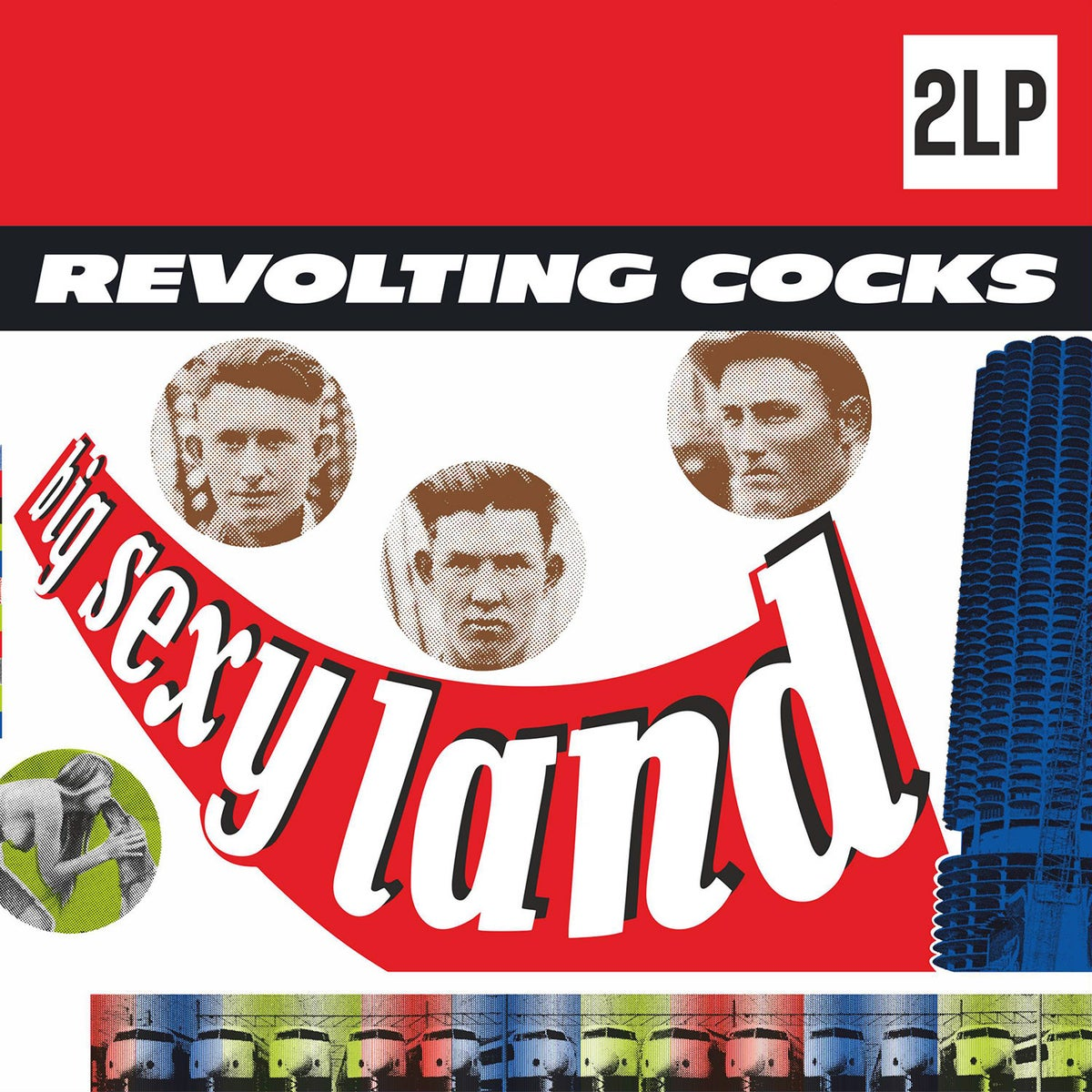 Image of Revolting Cocks - Big Sexy Land 2LP