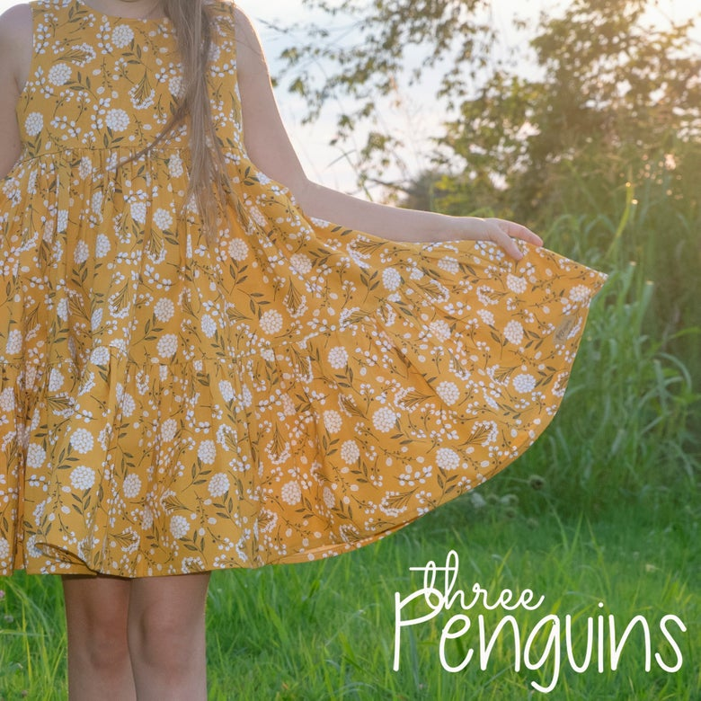 Image of Golden Fields Dress- Size 7