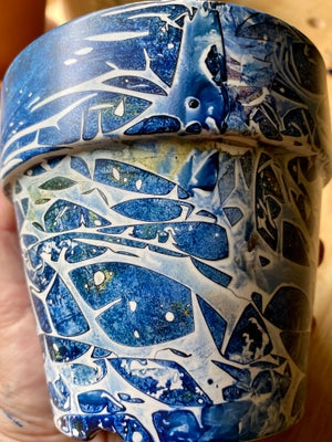 Image of Thicket Pot - Blue
