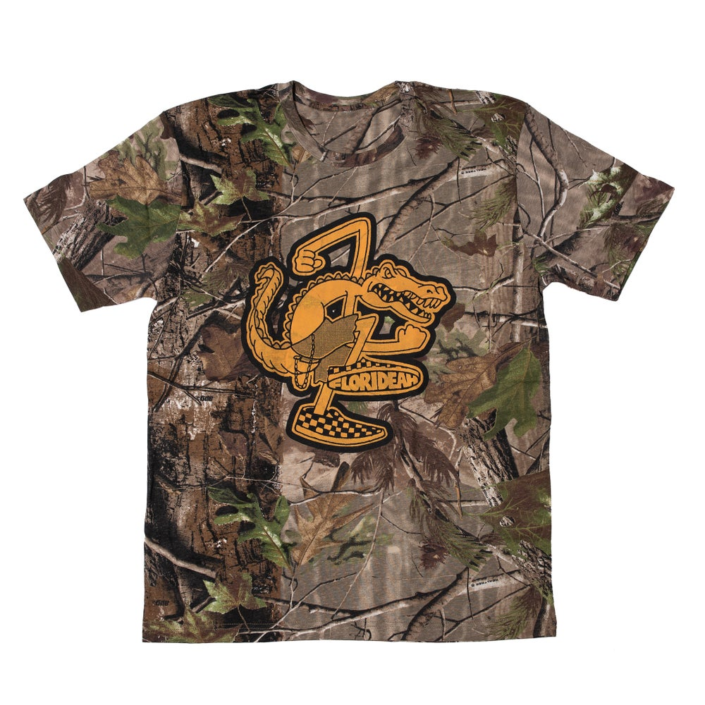 Image of SWAMPFEST REAL TREE CAMO SKANK SHIRT