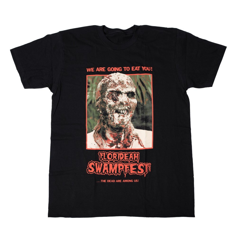 Image of SWAMPFEST ZOMBIE SHIRT