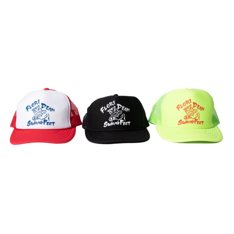 Image of SWAMPFEST BAD BOY TRUCKER HAT