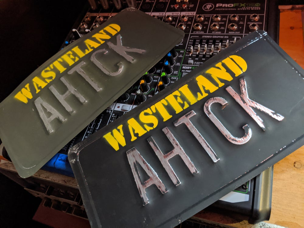 Image of AHTCK License Plates